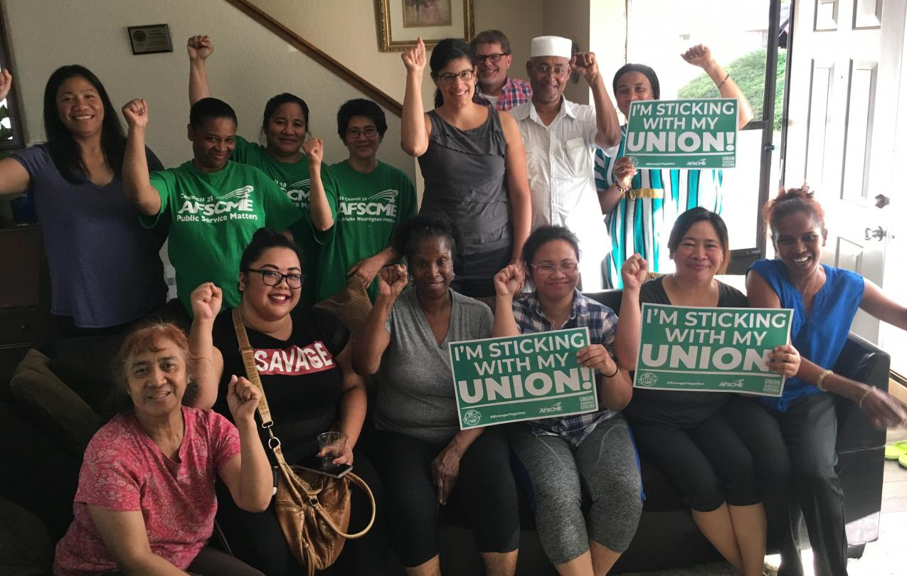 UW Laundry workers win Mother Jones Award